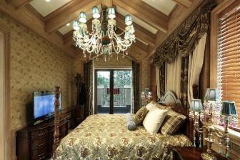 美式复古别墅 5室