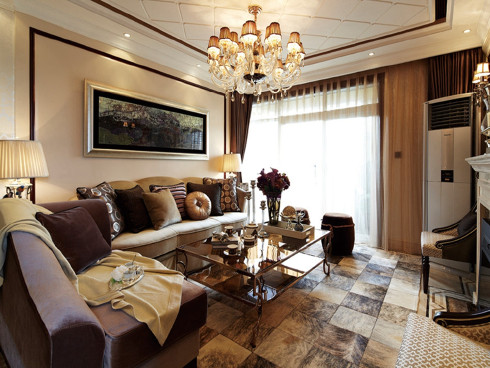 尚海湾豪庭新古典案例