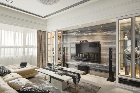 新古典风一居室效果图设计