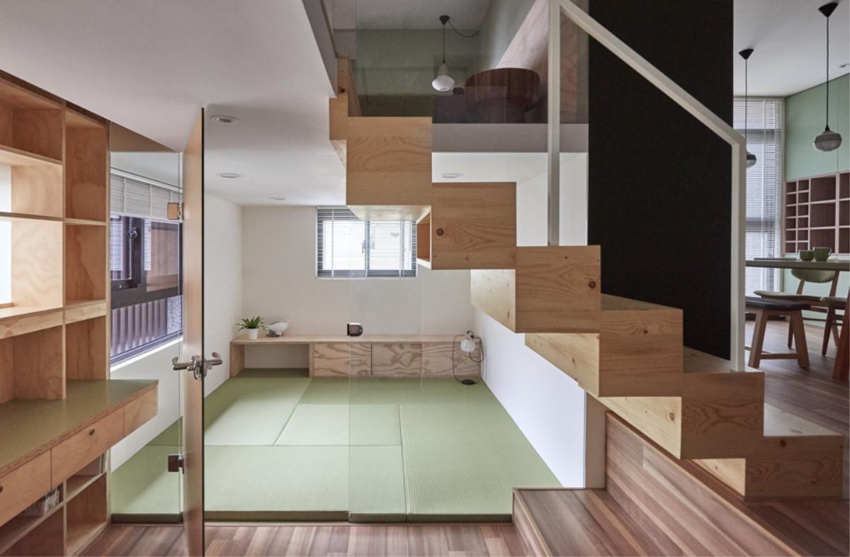 160平简约四居室薄荷木质