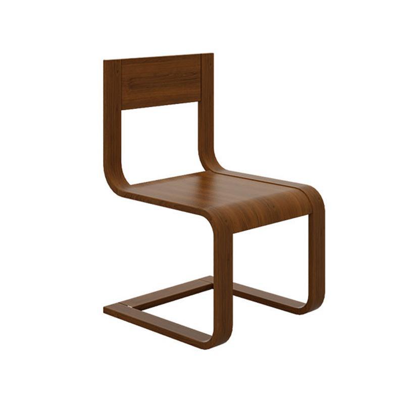 曲美家具家居 轻北欧实木椅子餐椅 餐厅家具弯曲木创意椅子