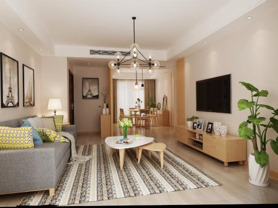 简约三居室设计-品味典雅生活