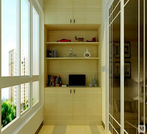 阳台装修效果图 阳台妙用设计案例图片