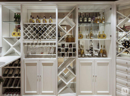 酒柜图片赏析 超流行的5款现代酒柜