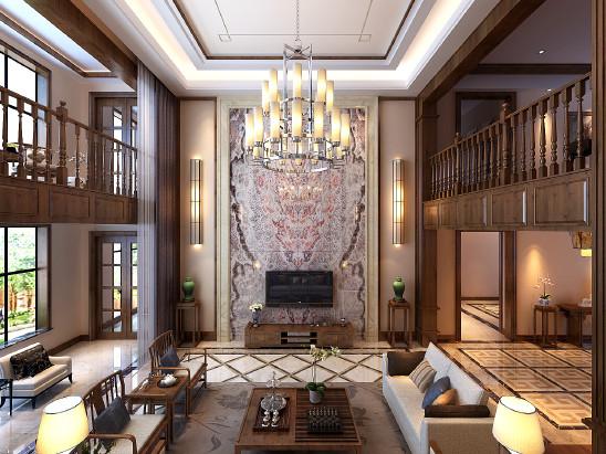 怡园别墅,中式风格