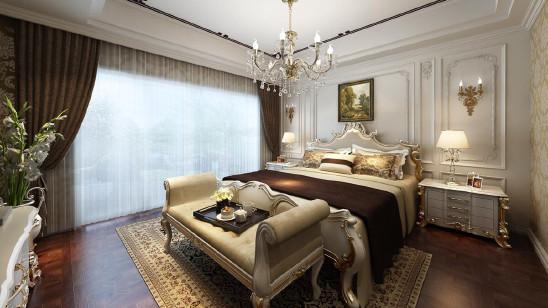 南京华润悦府法式古典三居室