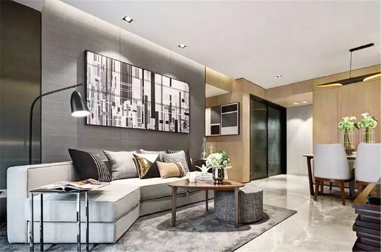现代简约风格公寓生活美如画