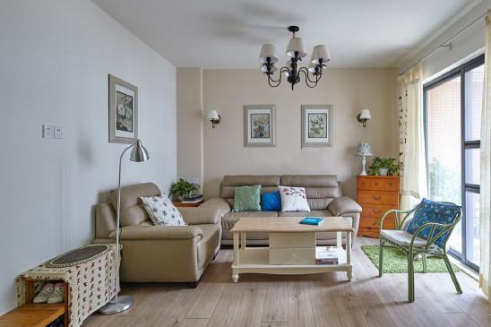 混搭风格两居室装修设计