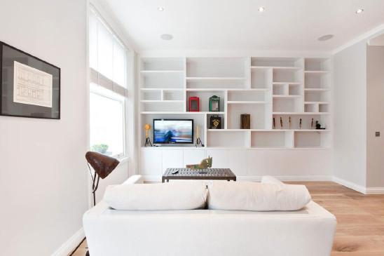 简约风感觉清纯一居室设计