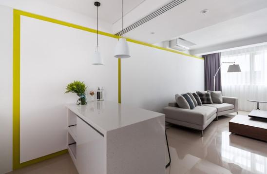 小夫妻的现代简约公寓