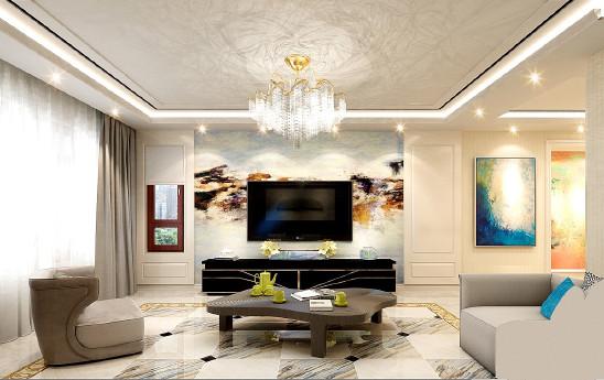 美地家园现代两居室