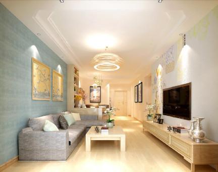 65平米现代风格两居室