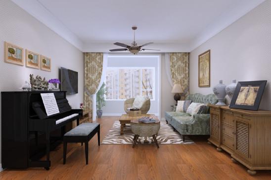 永泰城现代两居室