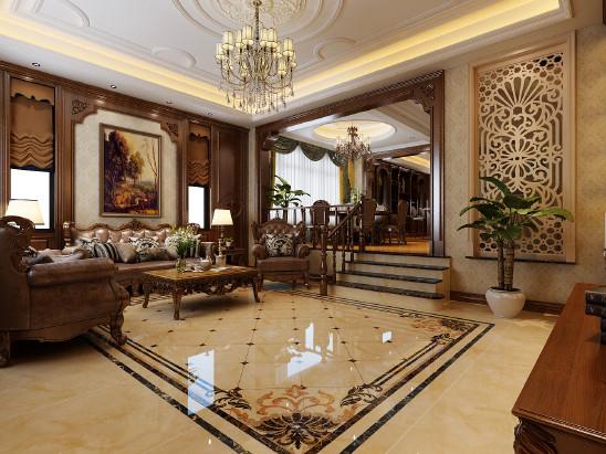 别墅 美式风格设计