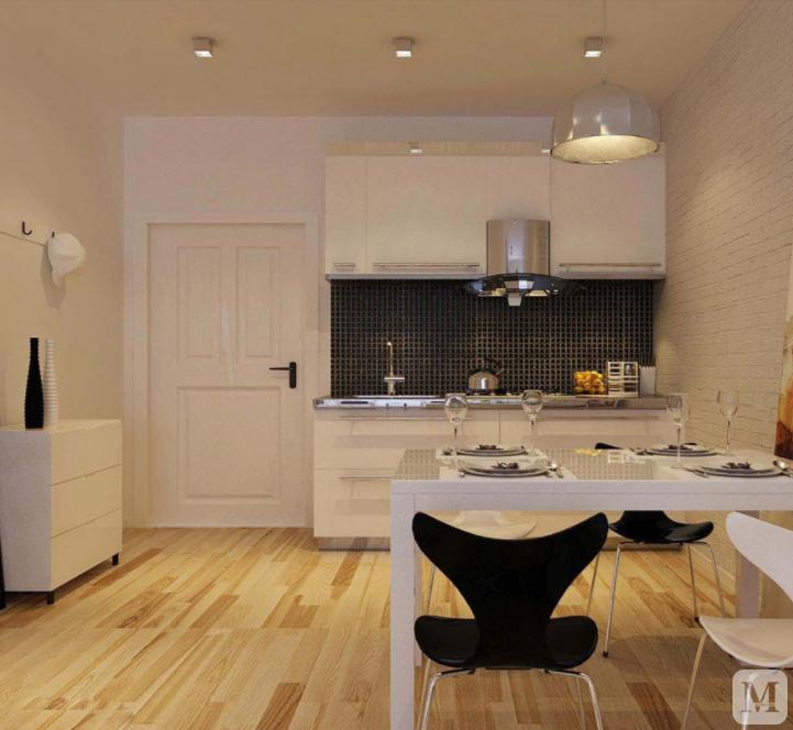 单身公寓装修效果图欣赏 小空间展现大效果