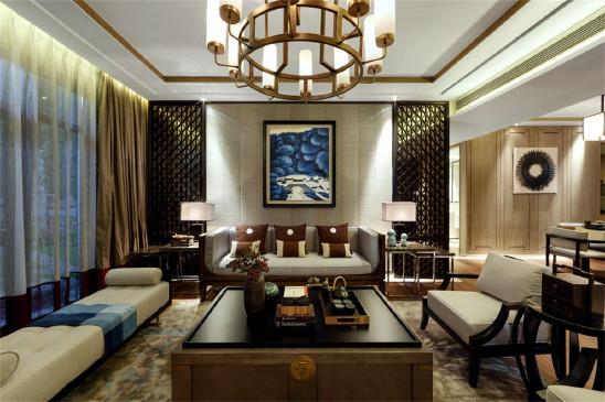 新中式的四居装修