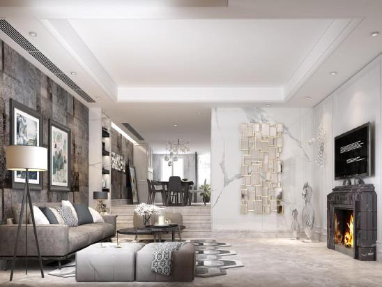 中海独墅岛260m²-北欧风格