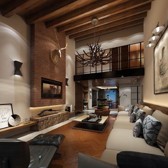 龙湖滟澜山二 室内设计&软装设计