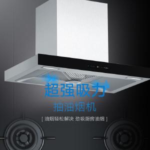西门子 烟机灶具套餐 超强吸力油烟机灶具 LC46AA950W/ER71F233MP