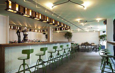 咖啡厅装修效果图 色彩的单搭配是咖啡厅设计的基础