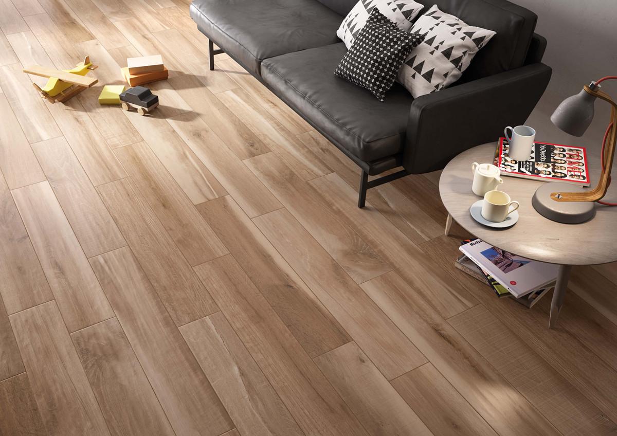 还在纠结木地板或瓷砖吗?木纹砖了解一下