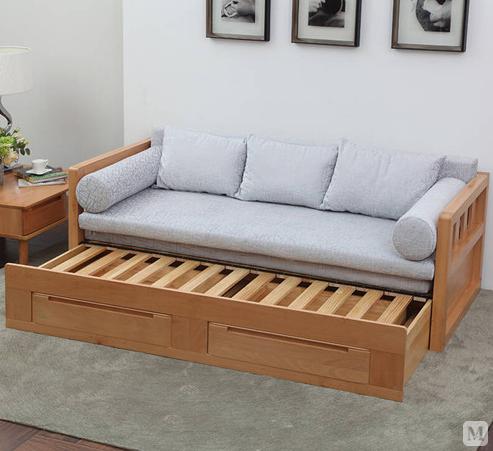 实木沙发床的选购及保养技巧 一起来了解下吧