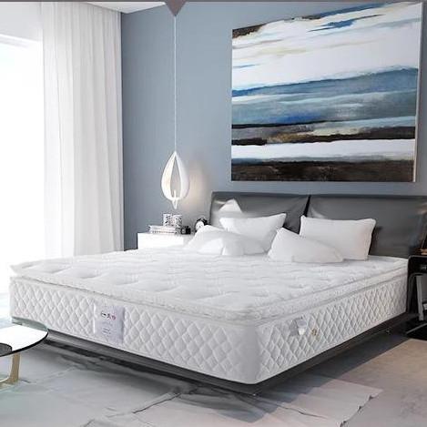 爱舒床垫 单双人软硬两用弹簧席梦思床垫 清舒