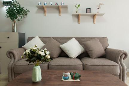 大白墙+原木风,打造绿意盎然的家