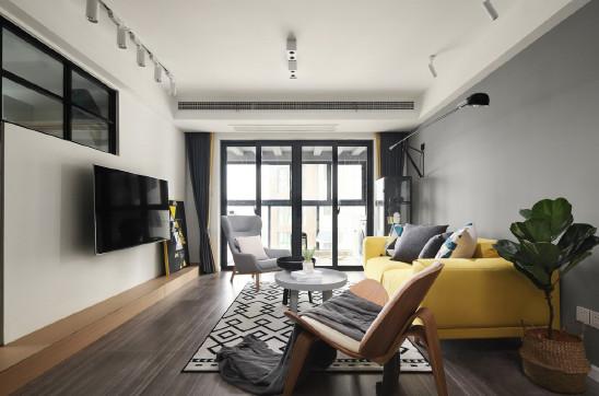 133㎡简约三室,将明快的氛围融入家中