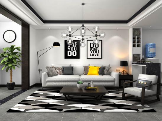 现代北欧黑白时尚设计