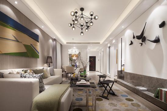 百变地毯不同范儿,78m²现代简约两居室