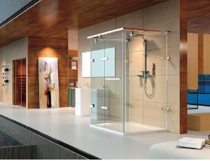 德立 淋浴屏 现代简约风格淋浴屏 U2601