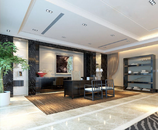 现代高端商务办公空间设计