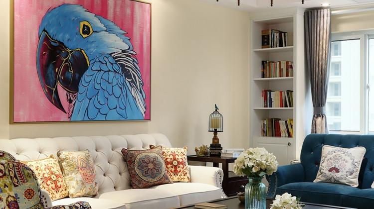 莺歌燕语演绎美式田园风,让家住进诗画里