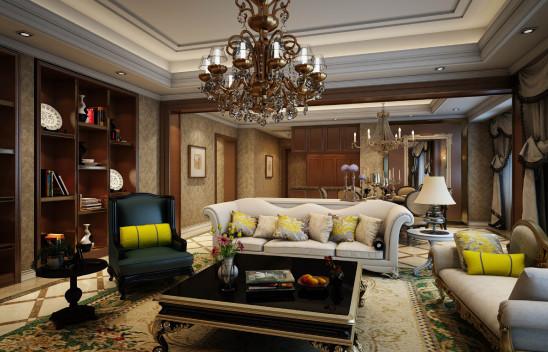 (大平层) 室内设计&软装设计