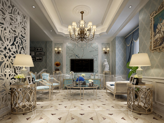 中海独墅岛300㎡-法式风格