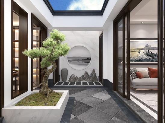 中式庭院修养