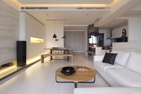 简约日系三房,细腻木作的无印良品风!