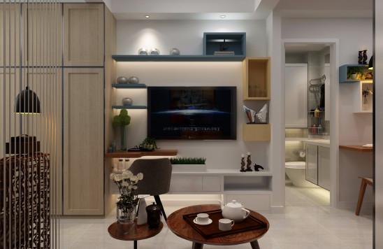 蜗居公寓现代风格