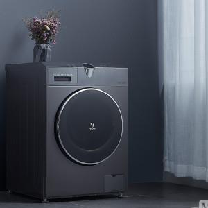 云米 互联网洗衣机 智能洗烘 自投放洗衣液 语音操控 WD10X