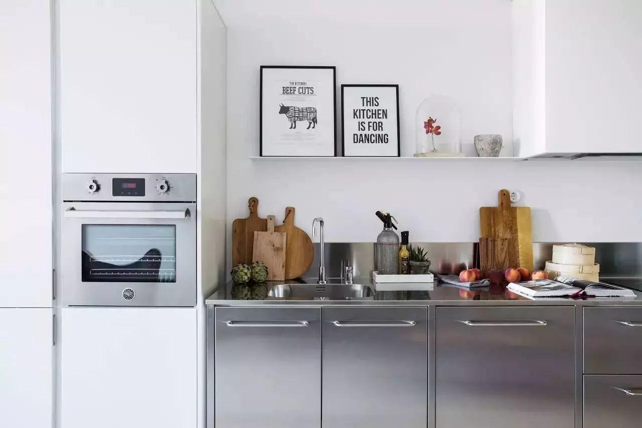 颜值高还耐用的不锈钢橱柜了解一下?