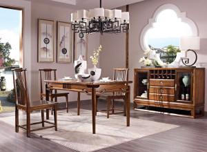 豪典工坊 餐台 新中式实木家具 中国概念III 301J1