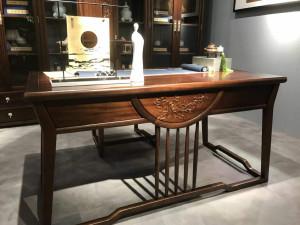 豪典工坊 书桌 新中式实木家具 中国概念III 301G1