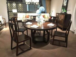 豪典工坊 圆餐桌 新中式家具 中国概念III 305J1A1.5