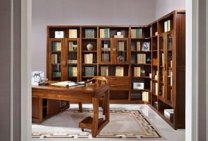 A家 转角柜体 中式实木书柜转角柜体 木色天香 F330-4T