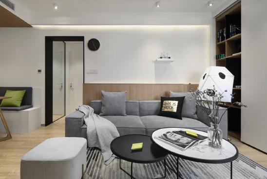 125m²,简约风,爆改时尚三居室