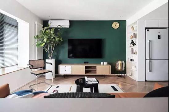 50㎡一厅一室,年轻人喜欢的水泥质,简单