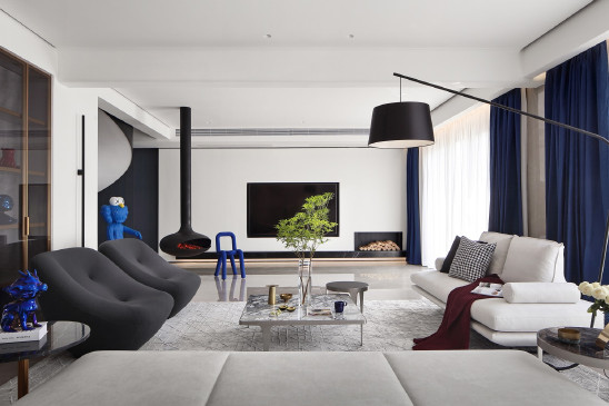 之界|安静、艺术的空中别墅,打造优美的家