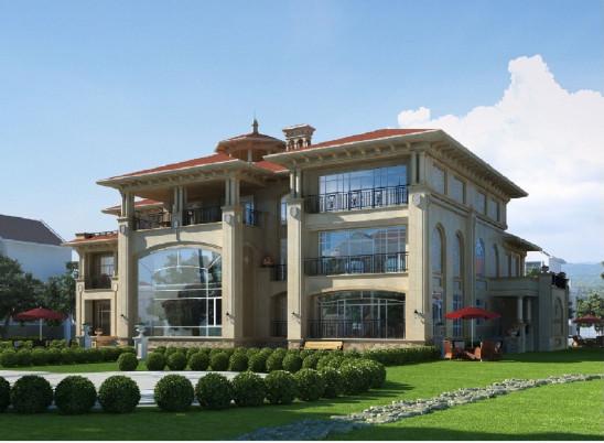 1100平中式豪华别墅 既古典又奢华