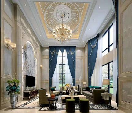 李总私人别墅装修设计方案